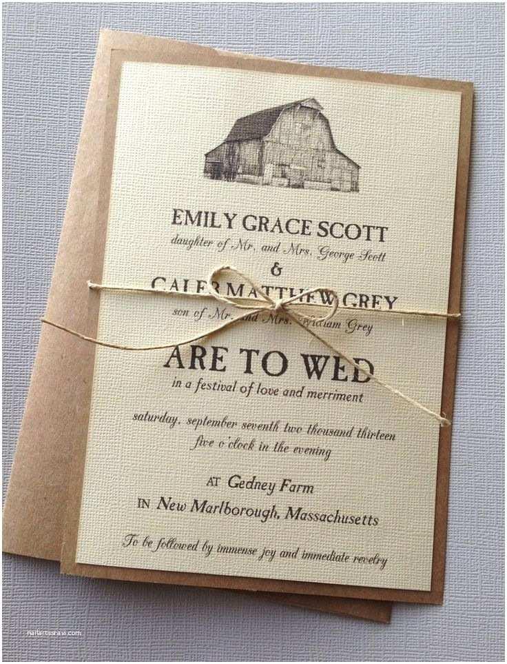 Rustic Wedding Invitations Cheap 418 Best Wedding Invitation Ideas Images On Pinterest