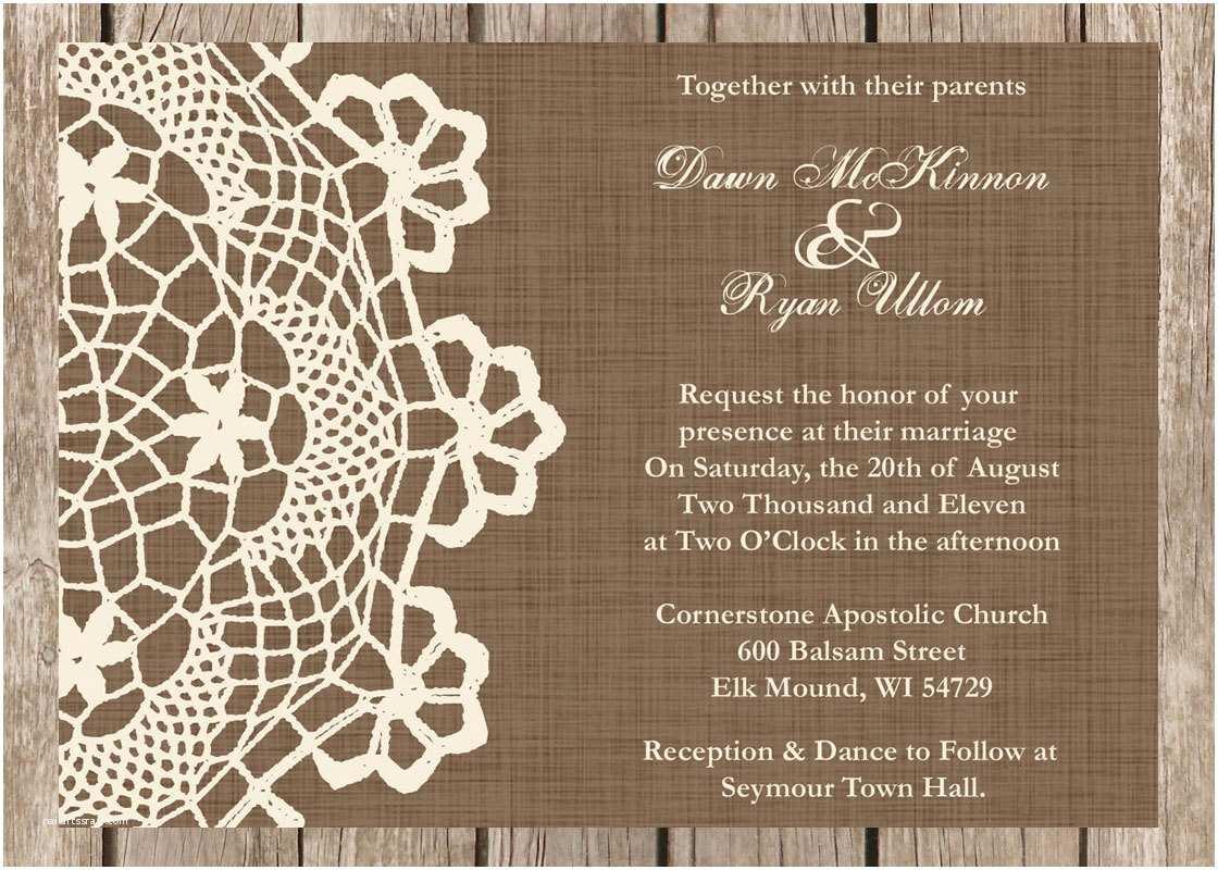 Rustic Wedding Invitations Cheap Chandeliers & Pendant Lights