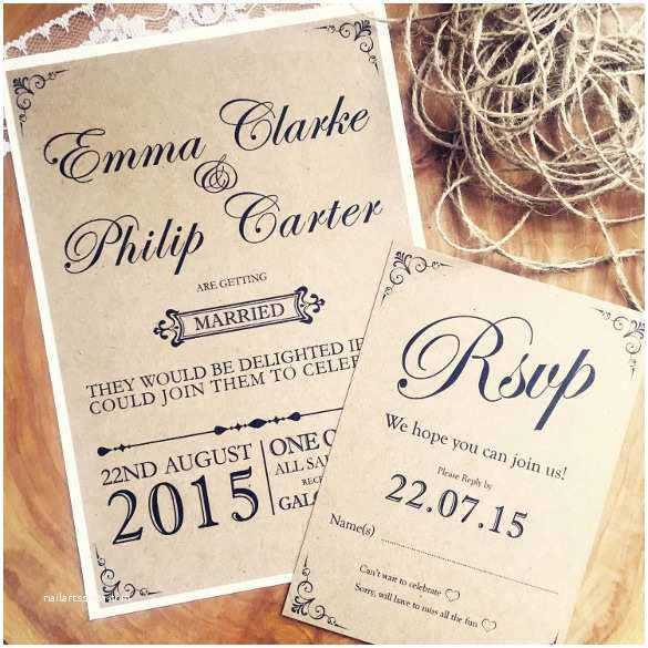 Rustic Wedding Invitations Online Free Rustic Wedding Invitation Templates