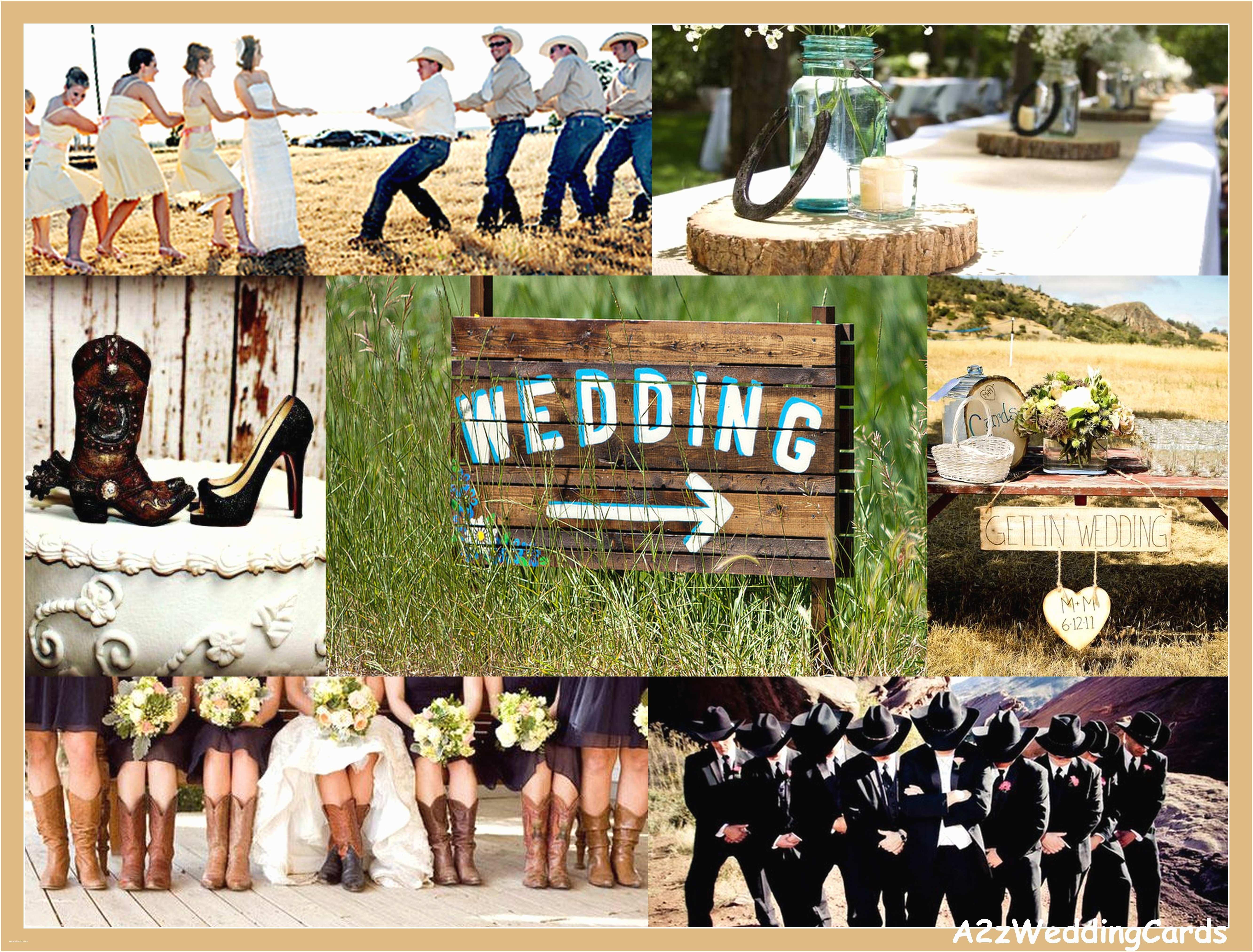 Rustic Wedding Invitations Under $1 Cowboy Wedding Wedding Invites
