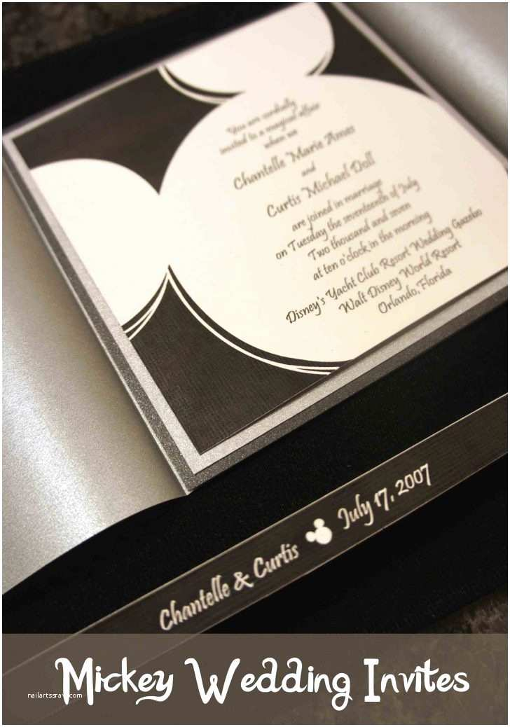 Rustic Wedding Invitations Under $1 Disney Mickey Mouse Wedding Invitations Oh Boy Invitation