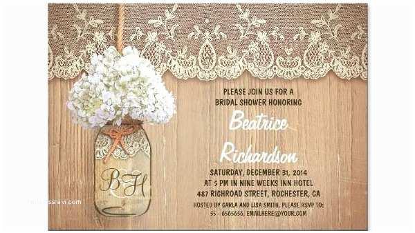 Rustic Wedding Shower Invitations Bridal Shower Invitations Rustic Bridal Shower Invitation