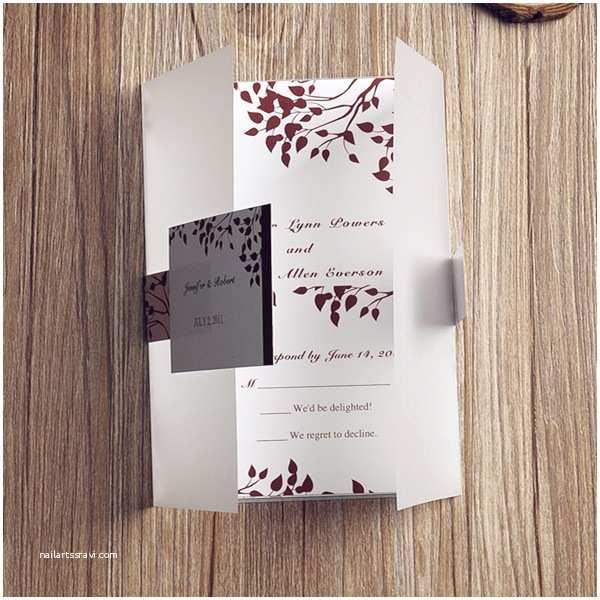 Rustic Winter Wedding Invitations the Creative Ideas for Winter Wedding Invitations