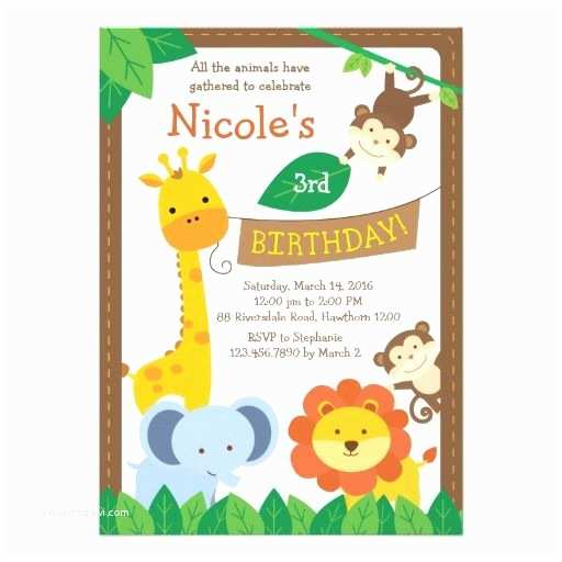 Safari Birthday Invitations 439 Best Safari Birthday Party Invitations Images On