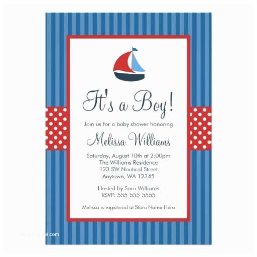 Sailor Baby Shower Invitations Baby Shower Decorations Baby Invitations Nautical Baby
