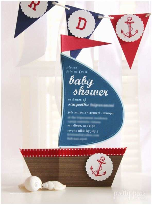 Sailor Baby Shower Invitations Best 25 Sailboat Baby Showers Ideas On Pinterest