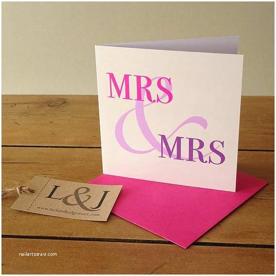 wedding cards for same couples