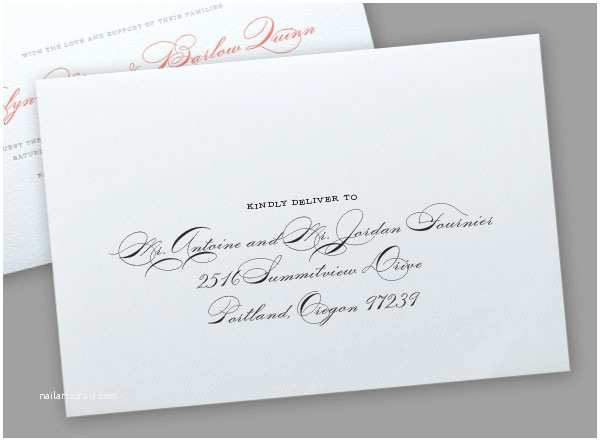 Same Sex Wedding Invitations Addressing Wedding Invitations to Same Couples