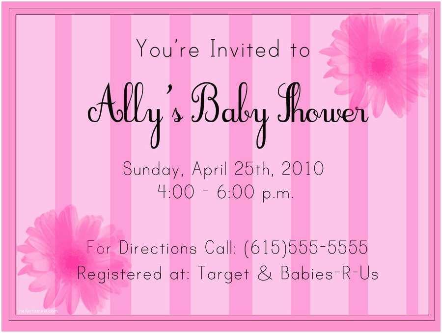 Sample Baby Shower Invitations Baby Shower Invitation Sample by Partnaznkrime On Deviantart