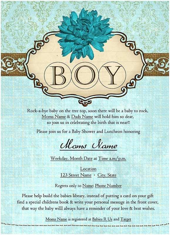 Sample Baby Shower Invitations Creative Barn Baby Shower Invitation Samples