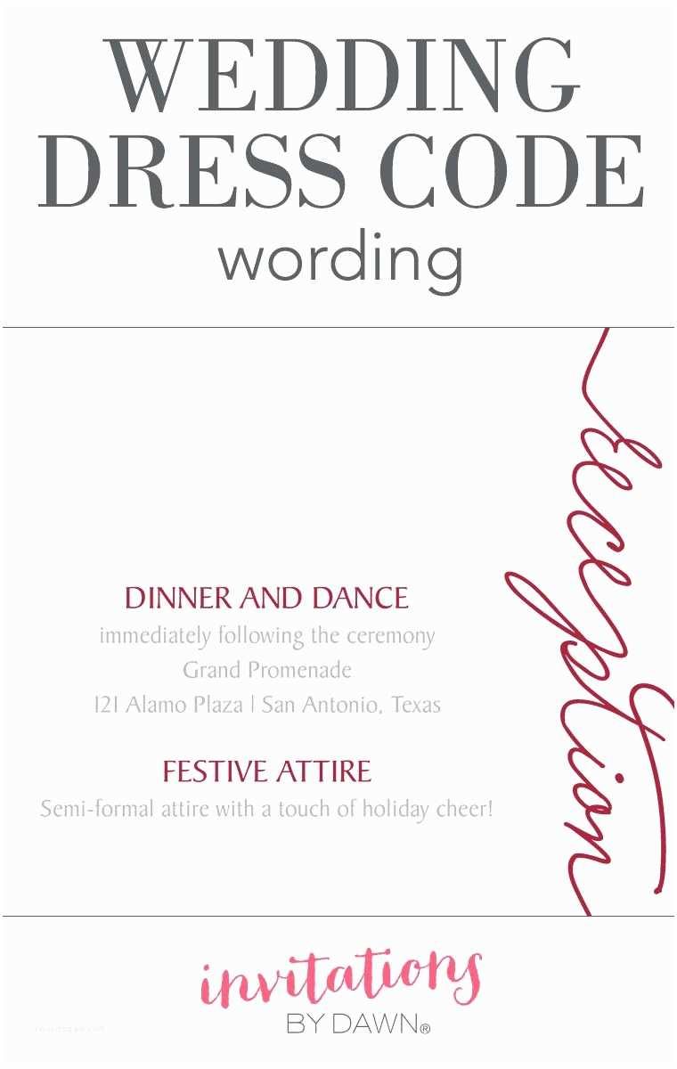 Sample Beach Wedding Invitation Wording Wedding Dress Code Wording