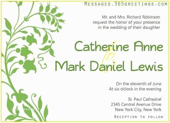 Sample Beach Wedding Invitation Wording Wedding Invitation Wording 365greetings