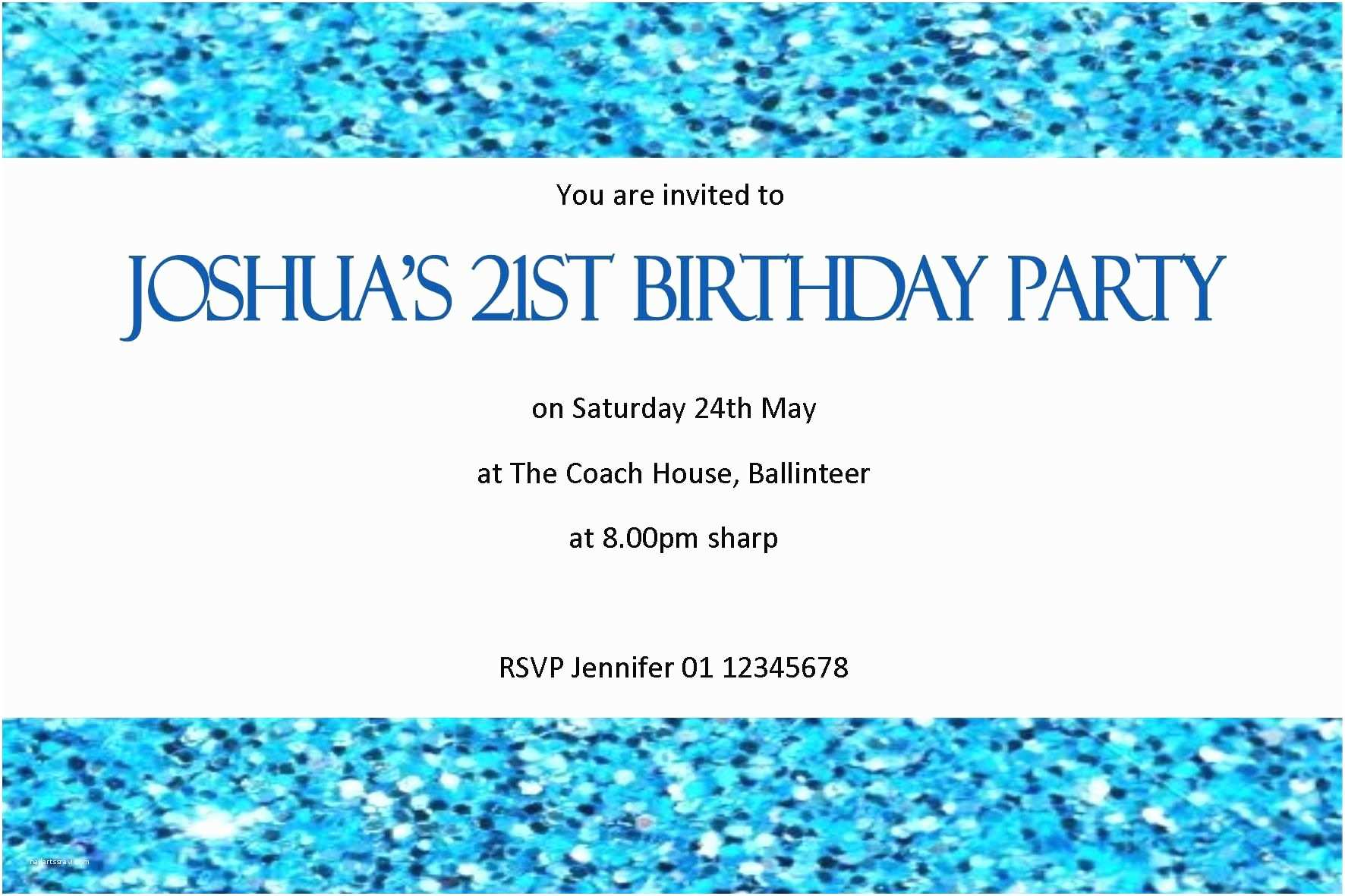 Sample Birthday Invitation Invite Samples Lunch Email