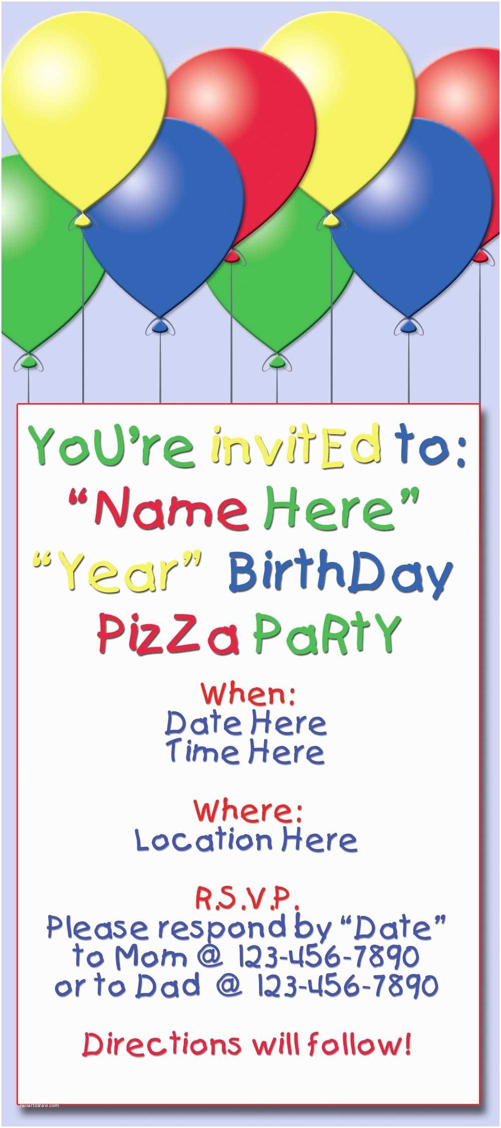 Sample Birthday Invitation My Design solutions Samples