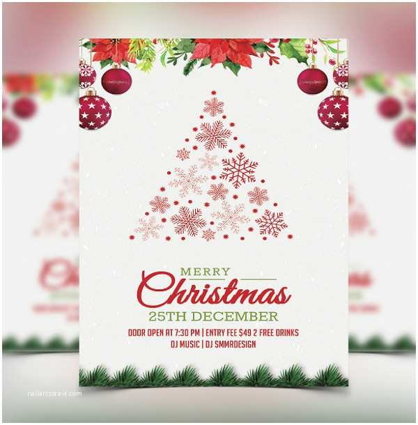Sample Christmas Party Invitation 25 Invitation Templates
