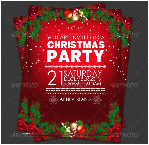 Sample Christmas Party Invitation Christmas Party Invitation Editable – Fun for Christmas