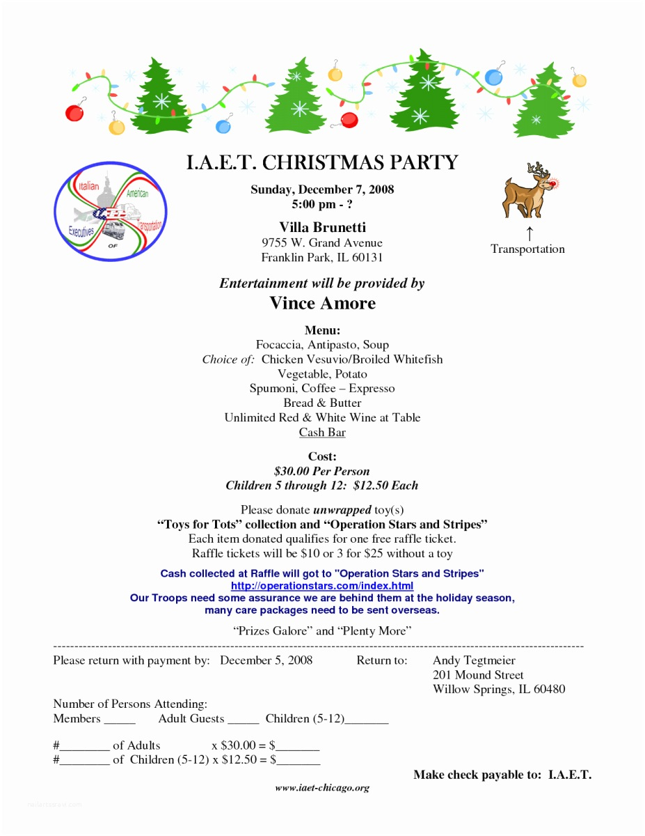 Sample Christmas Party Invitation Christmas Party Invitation Letter – Fun for Christmas