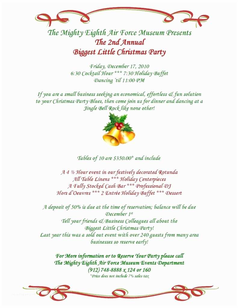 Sample Christmas Party Invitation Sample Invitation Letter for Christmas Party Mickey