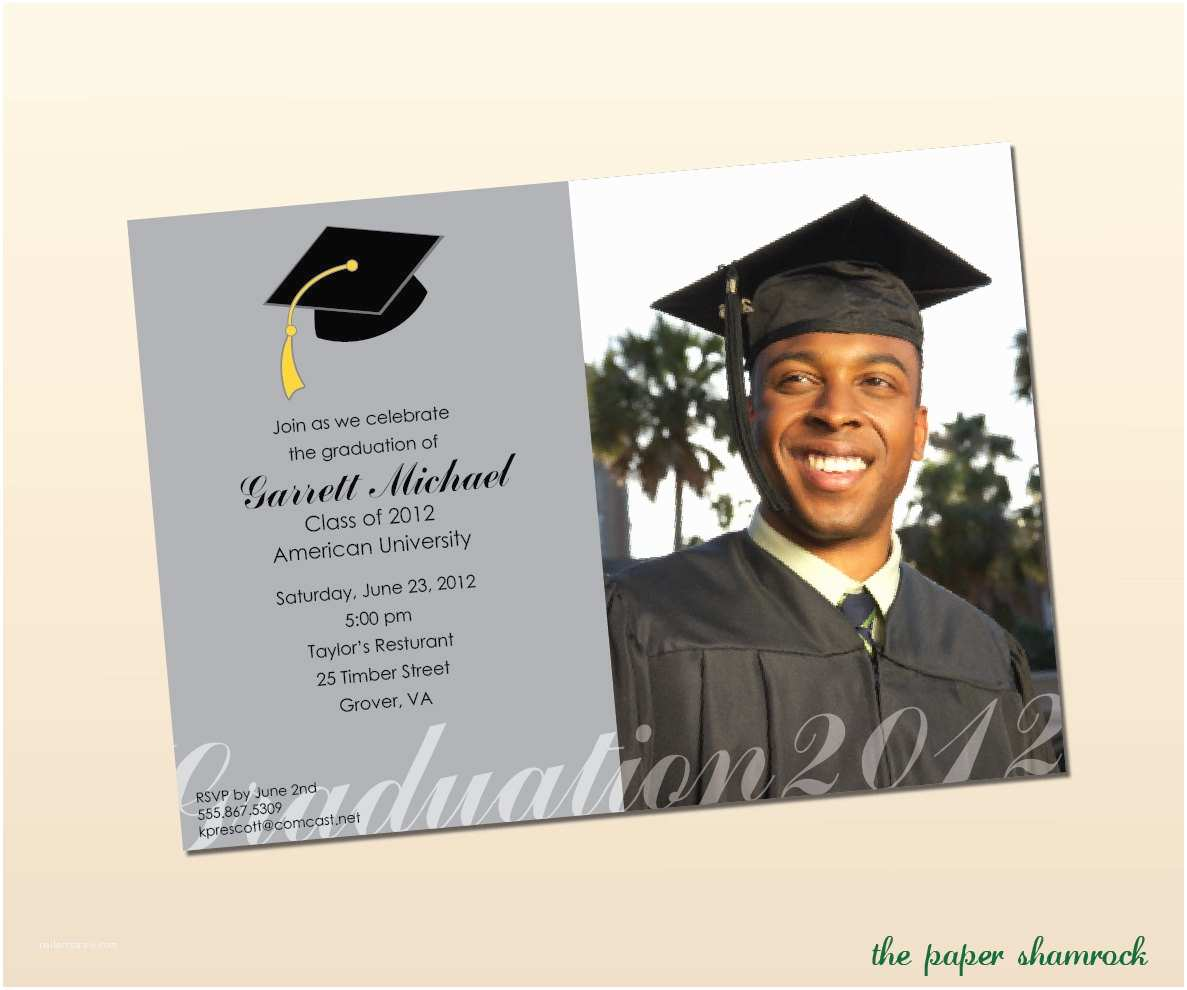 Sample Graduation Invitation College Graduation Invitation