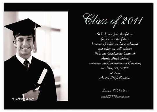 Sample Graduation Invitation Download Sample Graduation Invitation Announcement Black
