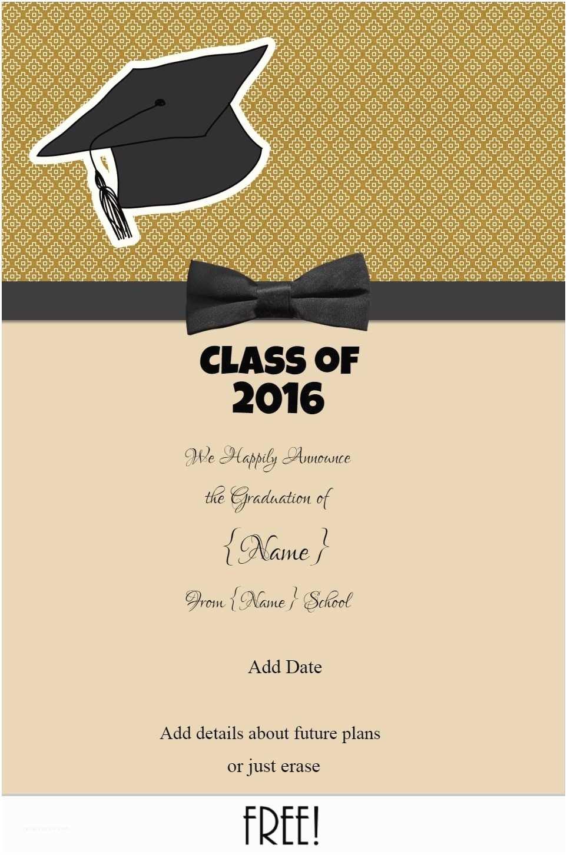 Sample Graduation Invitation Graduation Announcements