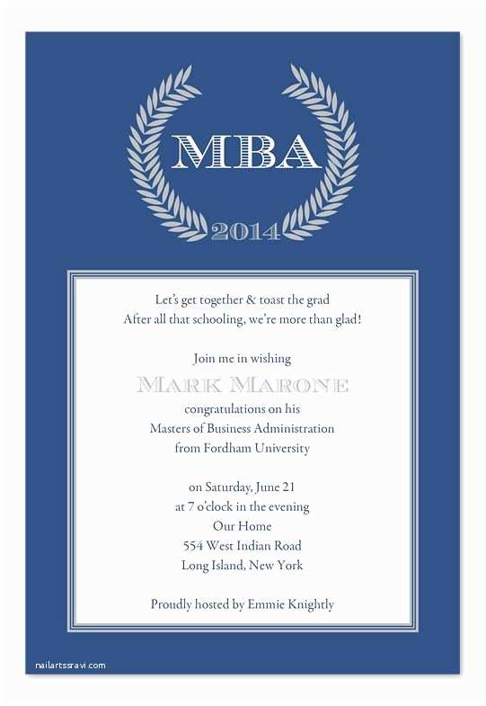 Sample Graduation Party Invitation High School Graduation Party Invitation Wording Examples