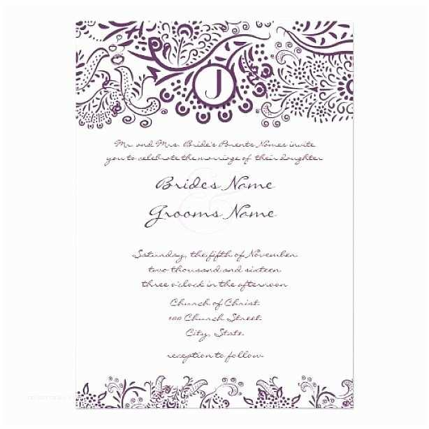 Sample Wedding Invitations Sample Invitation Templates