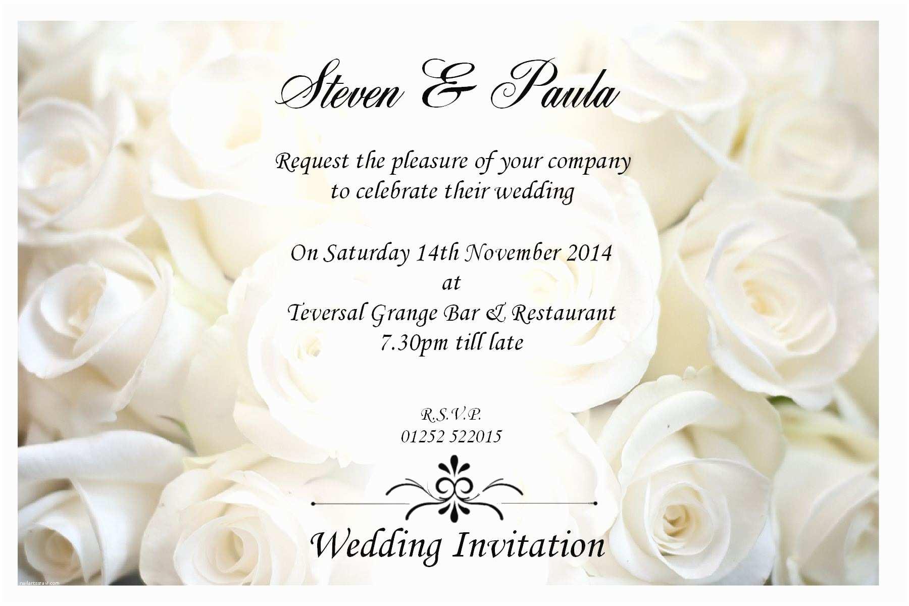 Sample Wedding Invitations Wedding Invitation Sample Wedding Invitation Card New
