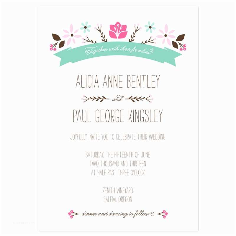 wedding invitations wording cute graphics design pastel colors elegant fonts black girly decor wedding invitation samples