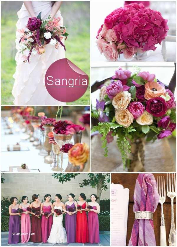 Sangria Color Wedding Invitations top 10 Pantone Fall Wedding Colors 2014 Trends