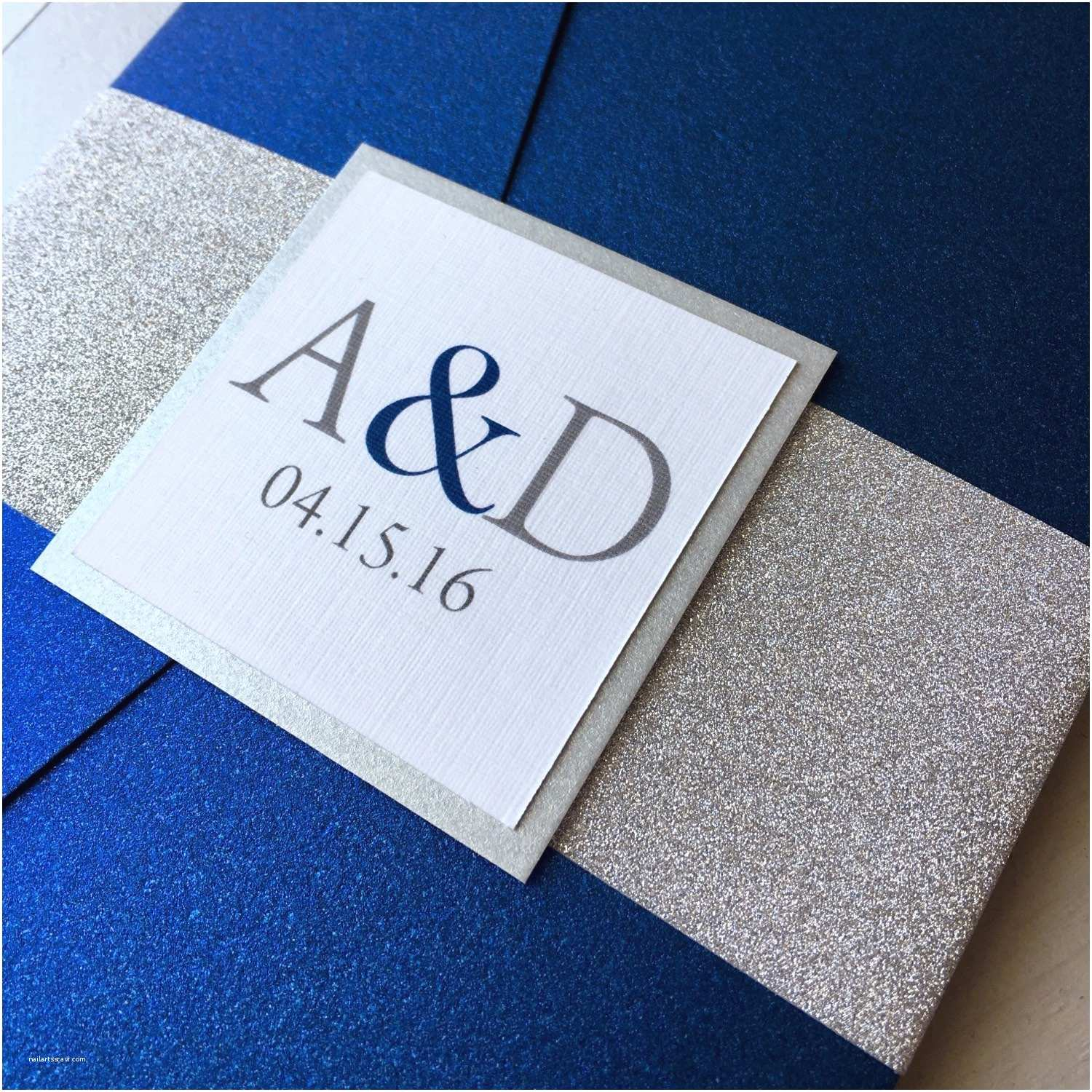 Sapphire Wedding Invitations Sapphire Blue Wedding Invitations Various Invitation