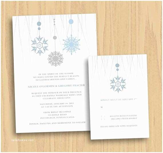 Save the Date and Wedding Invitation Packages 19 Best Winter Wonderland Invitation Images On Pinterest