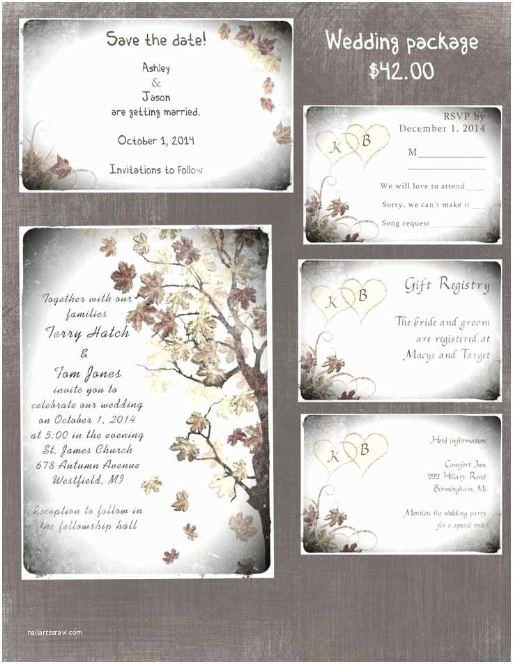 Save the Date and Wedding Invitation Packages 2396 Best Custom Wedding Pillows Images On Pinterest