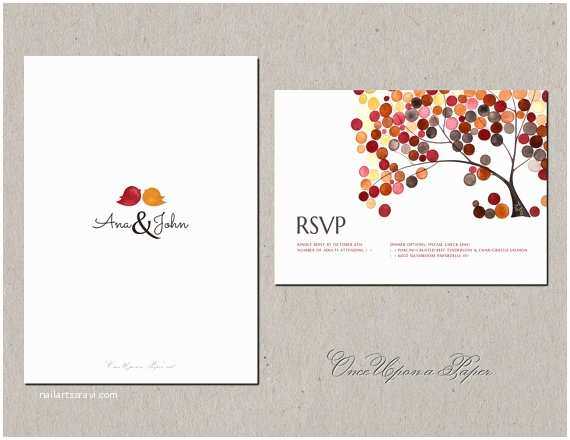 Save the Date and Wedding Invitation Packages Diy Printable Wedding Invitation Design Package by