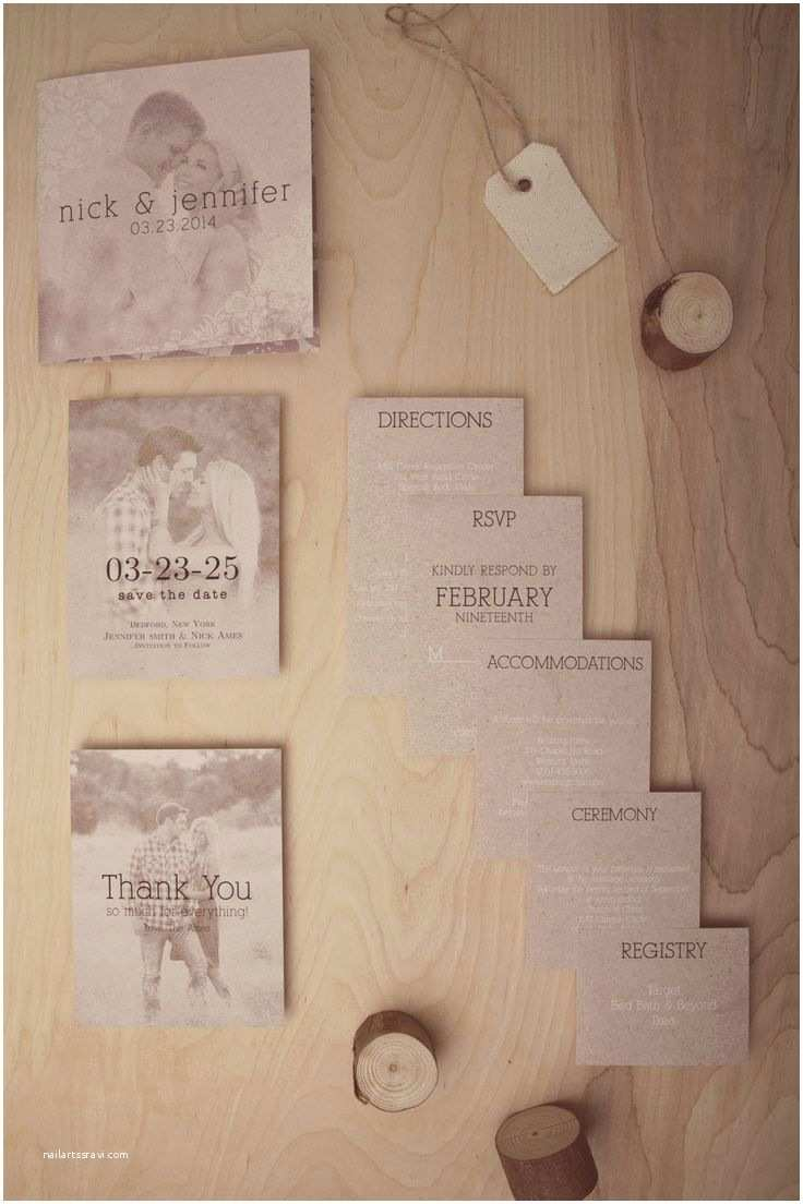 Save the Date and Wedding Invitation Packages the Vintage Floral Craft Wedding Invitations with Matching