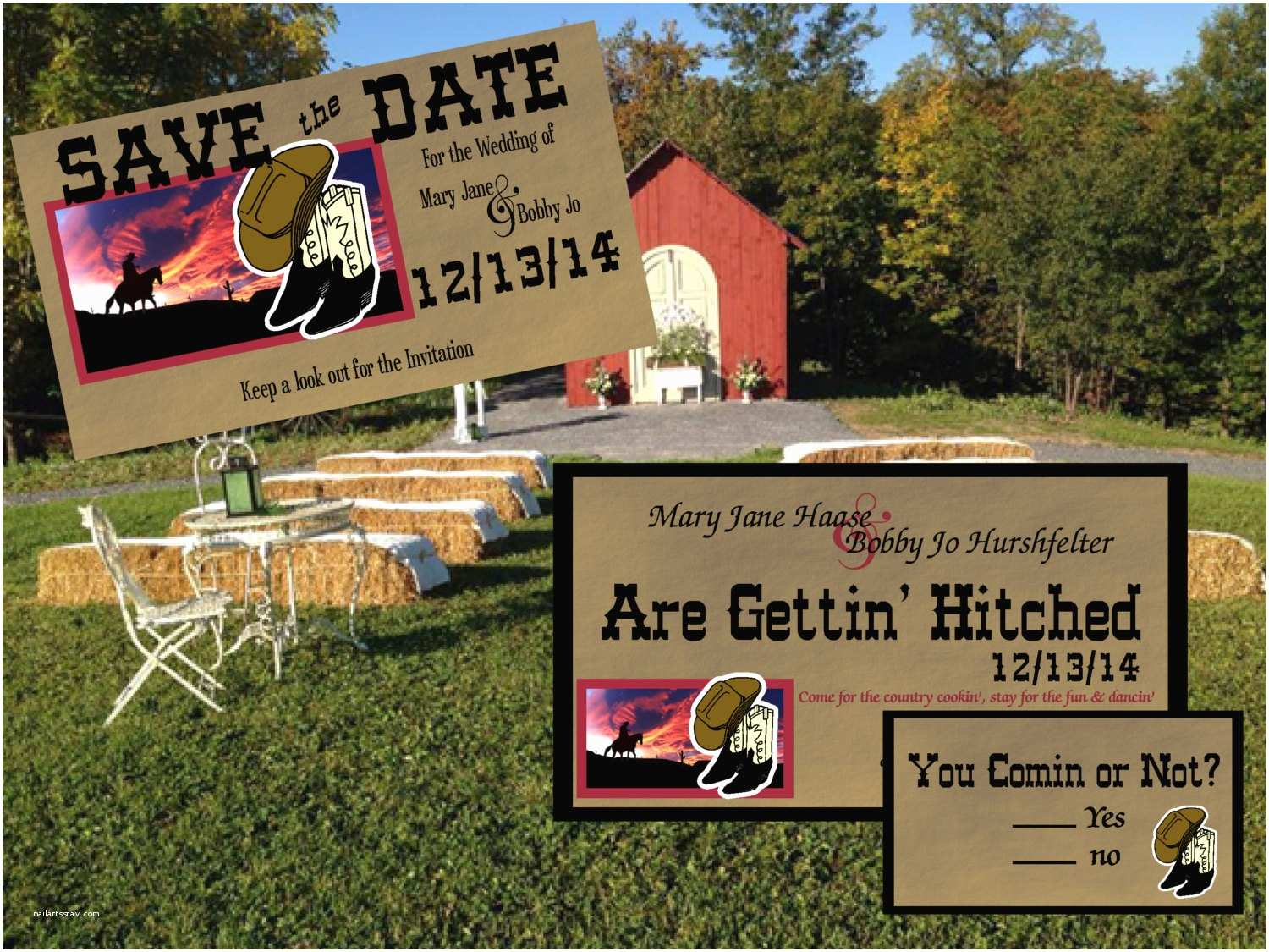 Save the Date and Wedding Invitation Packages Wedding Package – Epaperheart – Stationary & Invitations