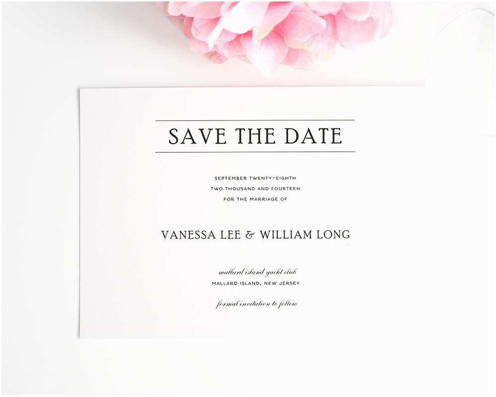 Save the Date Vs Wedding Invitations Wedding Invitation Wording Samples Save the Date Matik for