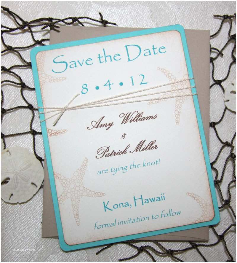 Save the Date Wedding Invitations 100 Beach Wedding Save the Date Cards Save the Date Wedding