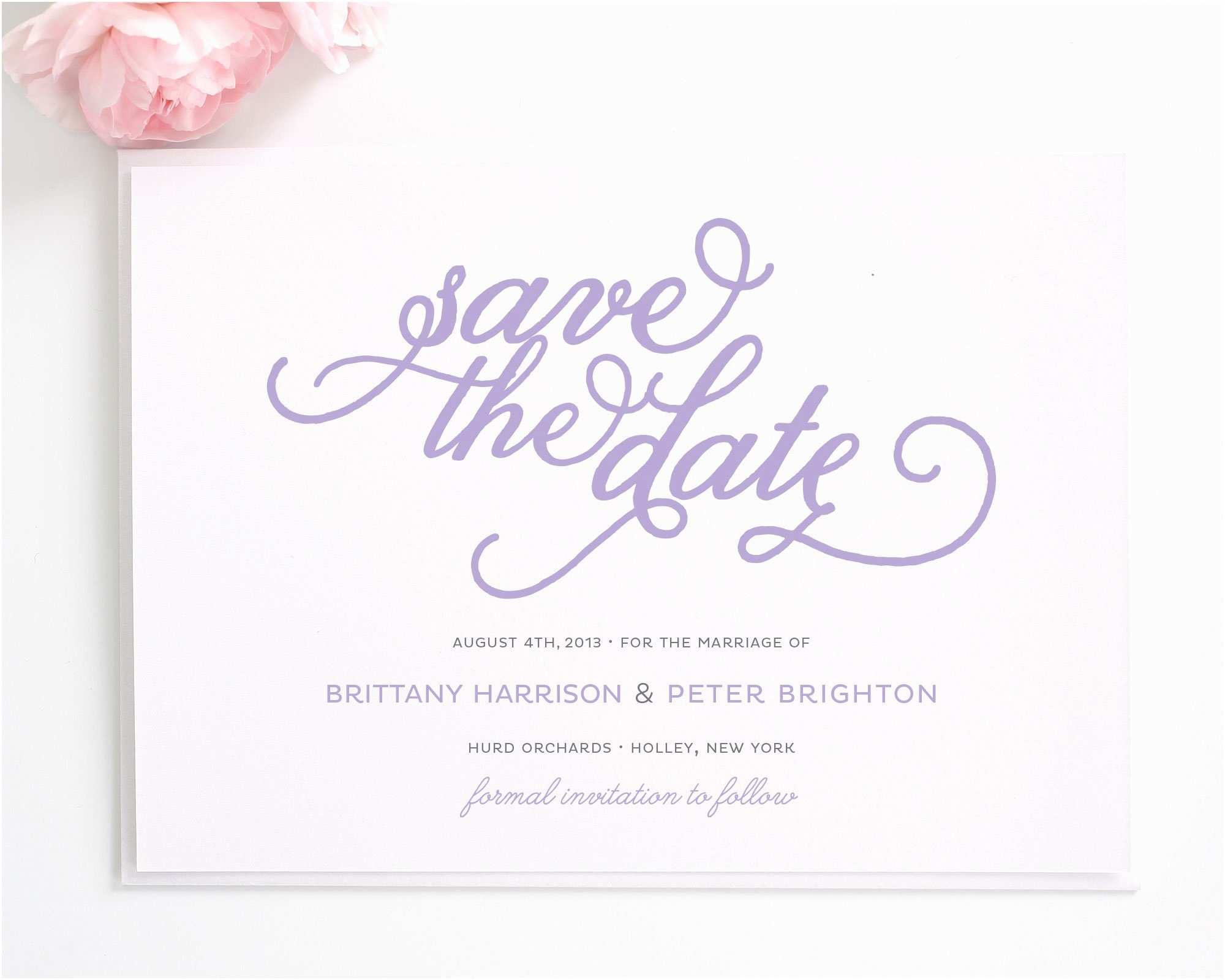 Save the Date Wedding Invitations Classic Whimsy Save the Date Cards Save the Date Cards
