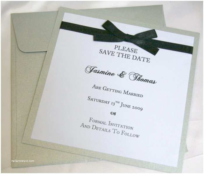 Save the Date Wedding Invitations Custom Made Creations – B Studio Wedding Invitations