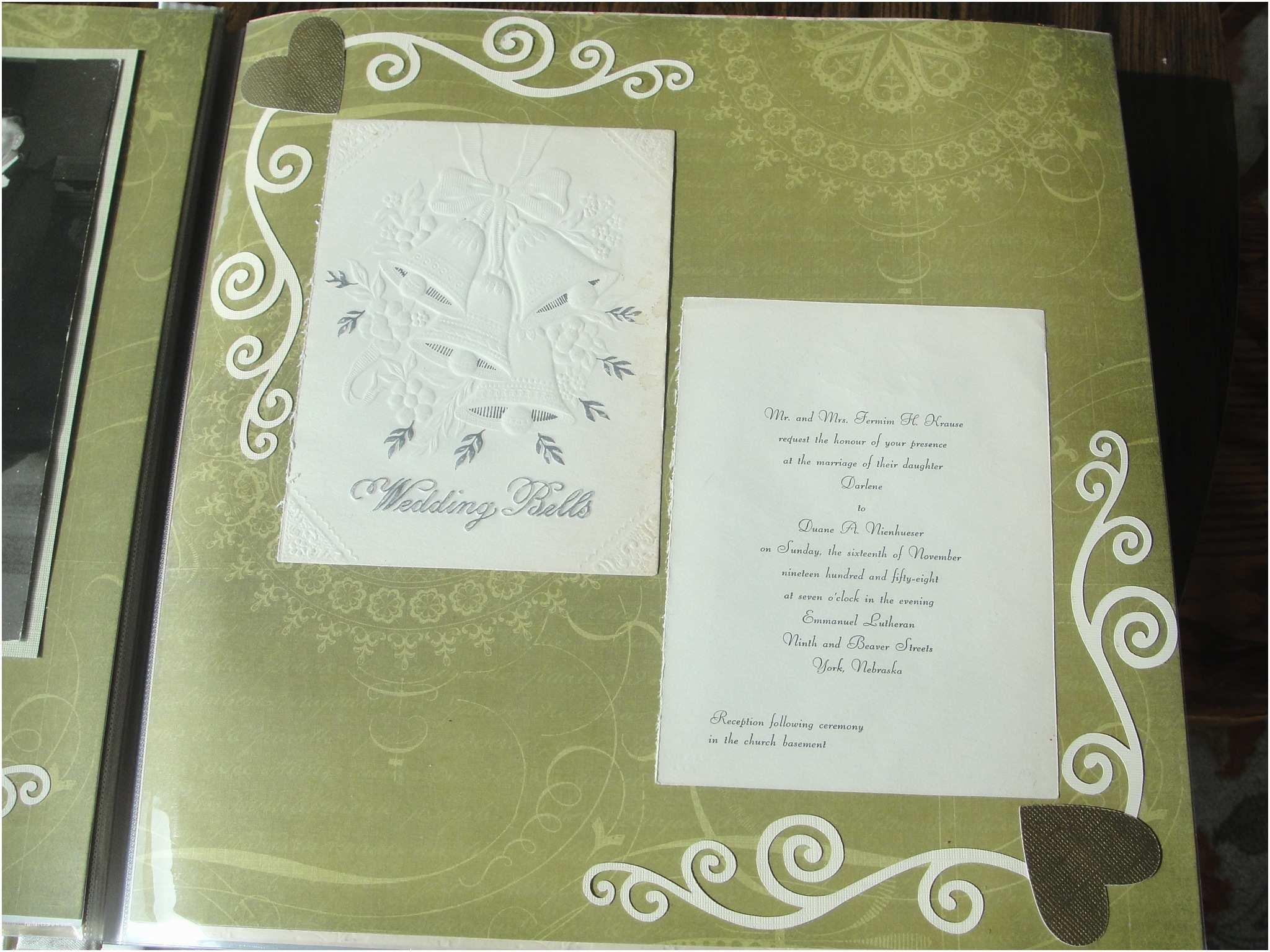 Scrapbook Wedding Invitations Perfect Scrapbooking Wedding Invitations S