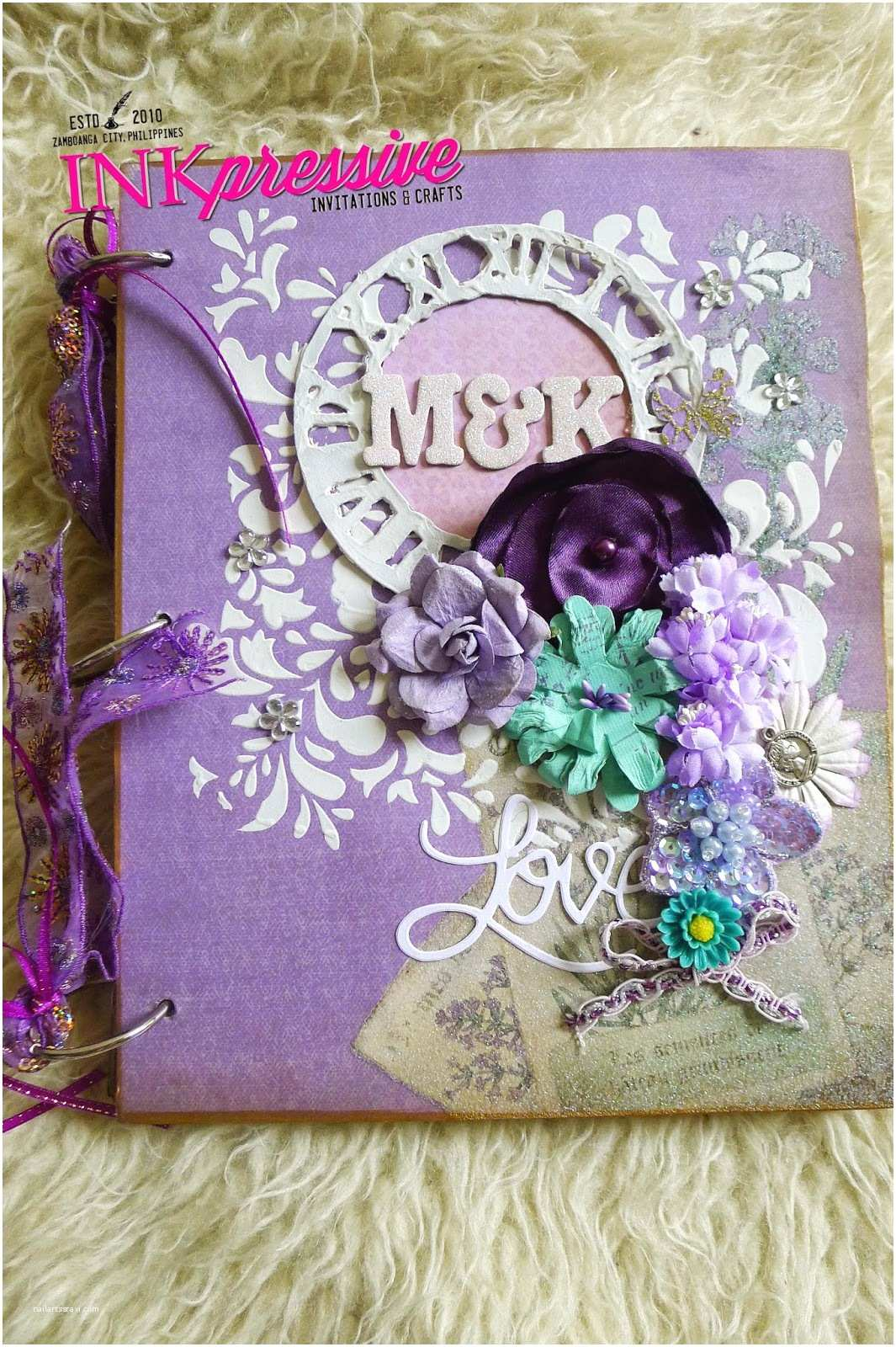 Scrapbook Wedding Invitations Scrapbook Albums