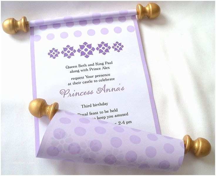 Scroll Baby Shower Invitations 25 Best Ideas About Girl Birthday Invitations On