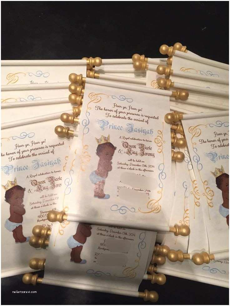 Scroll Baby Shower Invitations 25 Best Ideas About Scroll Invitation On Pinterest