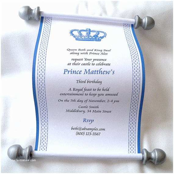 Scroll Baby Shower Invitations Scroll Baby Shower Invitations –