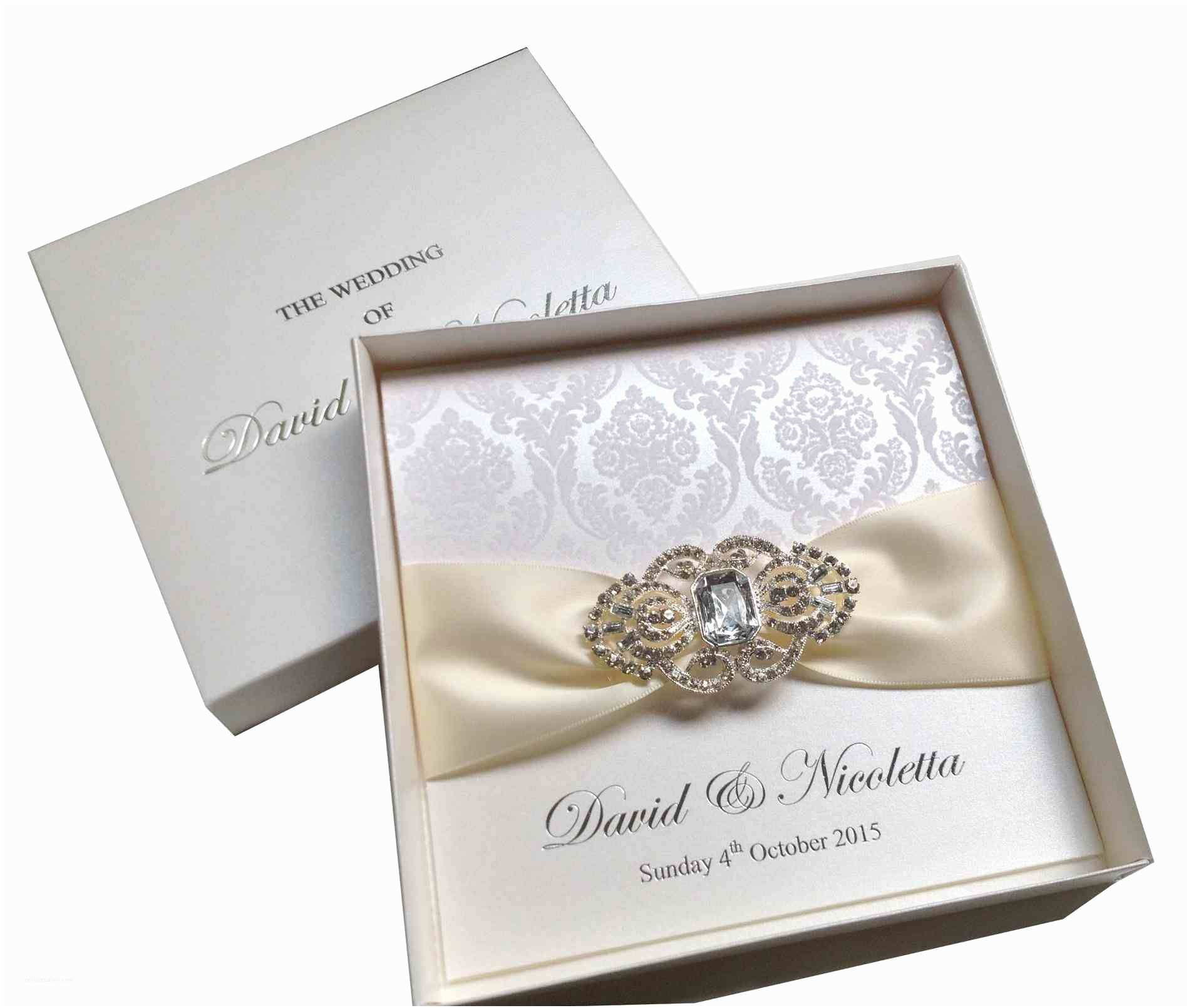 Scroll Wedding Invitations wholesale Brooch wholesale Rhalibaba Box Wedding Invitation Boxes