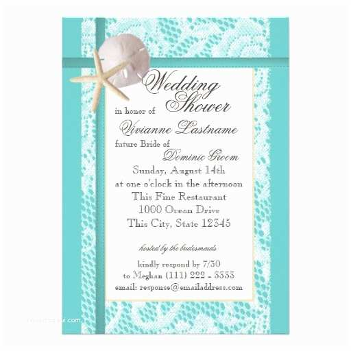 Sea themed Wedding Invitations Bridal Shower Invitations Bridal Shower Invitations Ocean