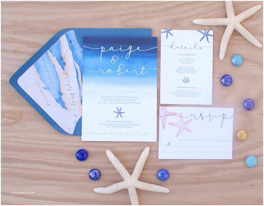 Sea themed Wedding Invitations Ocean themed Wedding Invitation with A Wedding Map
