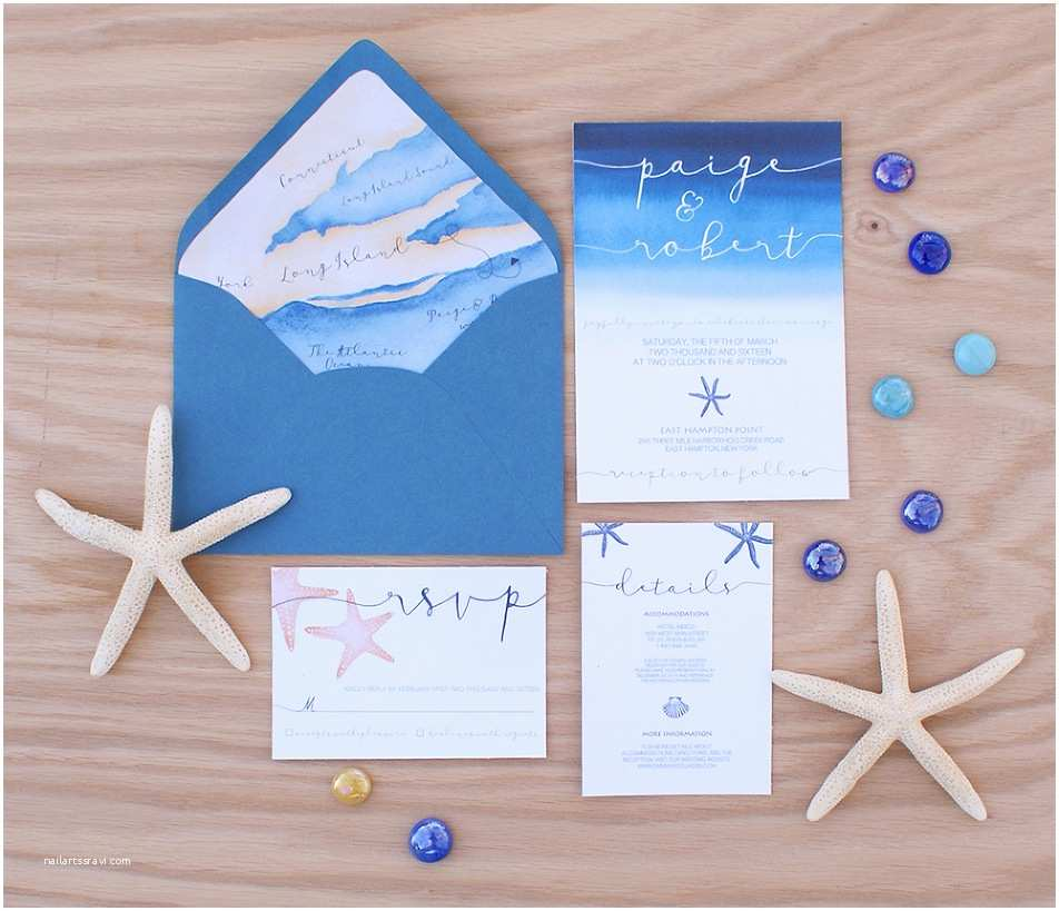 Sea themed Wedding Invitations Ocean themed Wedding Invitation with A Wedding Map