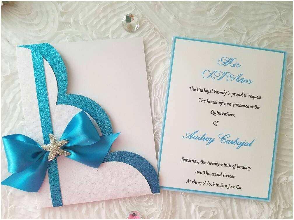 Sea themed Wedding Invitations Under the Sea theme Invitation